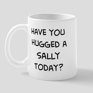 Hugged a Sally Mug