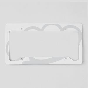 Brass Knuckles License Plate Holder