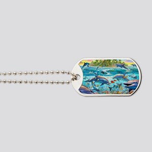 Dolphin Reef Dog Tags