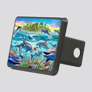 Dolphin Reef Rectangular Hitch Cover