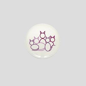 Cats Mini Button