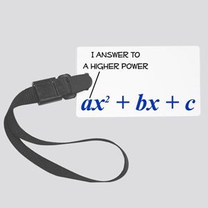 HigherPower Large Luggage Tag