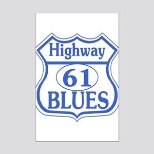 Highway 61 Blues Mini Poster Print