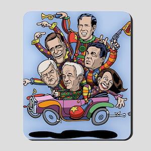 clown-car-gop-LG Mousepad