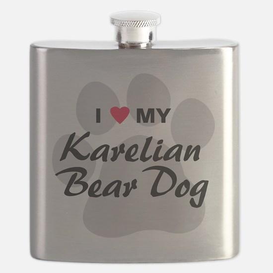 karelian-bear-dog Flask