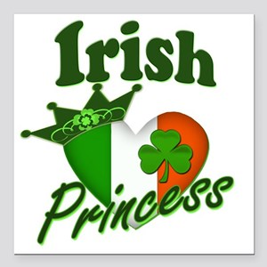 "Irish Princess 2012 Square Car Magnet 3"" x 3"""