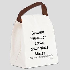 nerd-upback2 Canvas Lunch Bag