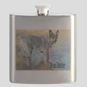 Blue Heeler 2 Flask