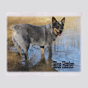 Blue Heeler 2 Throw Blanket