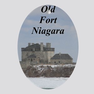Old Fort Niagara Oval Ornament