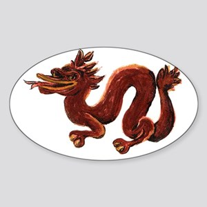 Year of the Dragon 2012 Sticker (Oval)