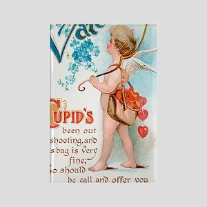 Cupids Sweet Valentine Rectangle Magnet