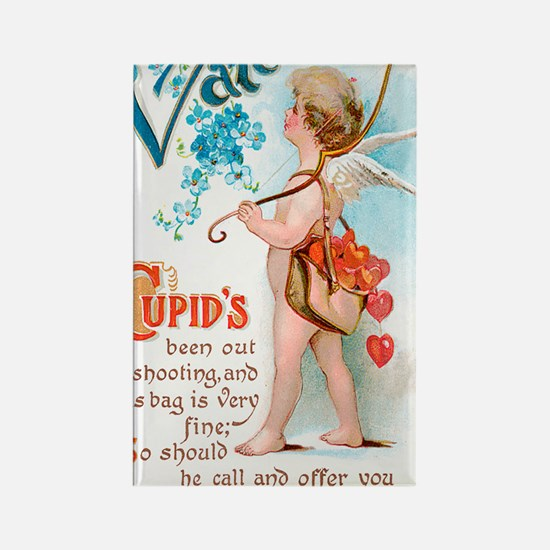 Cupids Sweet Valentine Rectangle Magnet
