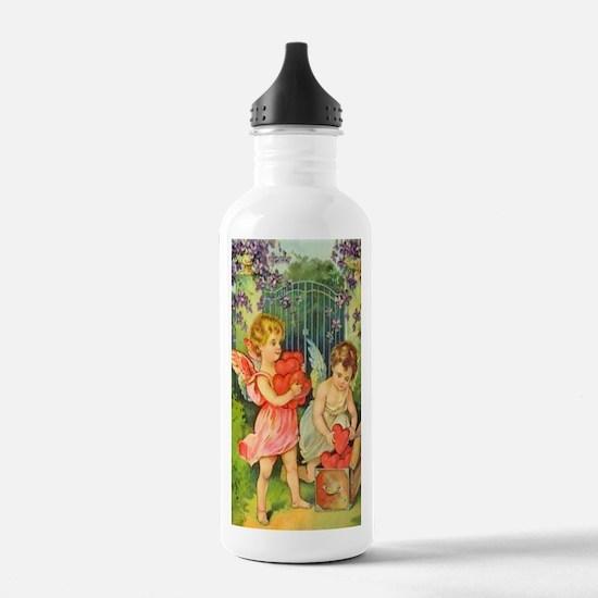 Cupids Heart Box Water Bottle