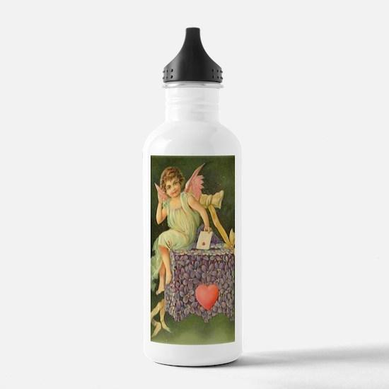Cupids Letter Water Bottle
