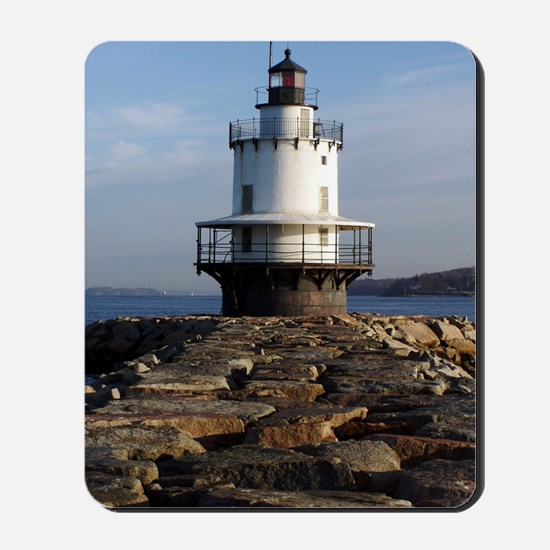 Spring Point Light keychain Mousepad