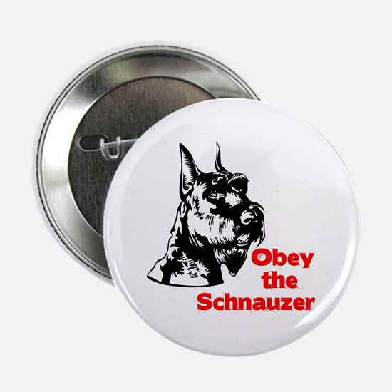 Obey the Schnauzer Button