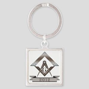WM2012 custom copy Square Keychain