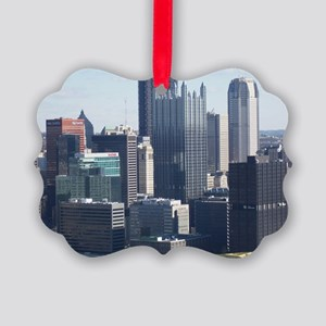 DowntownPittsburgh1 Picture Ornament