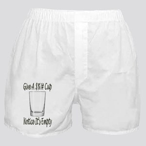 Give a crap cup Boxer Shorts