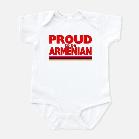 PROUD ARMENIAN Infant Bodysuit