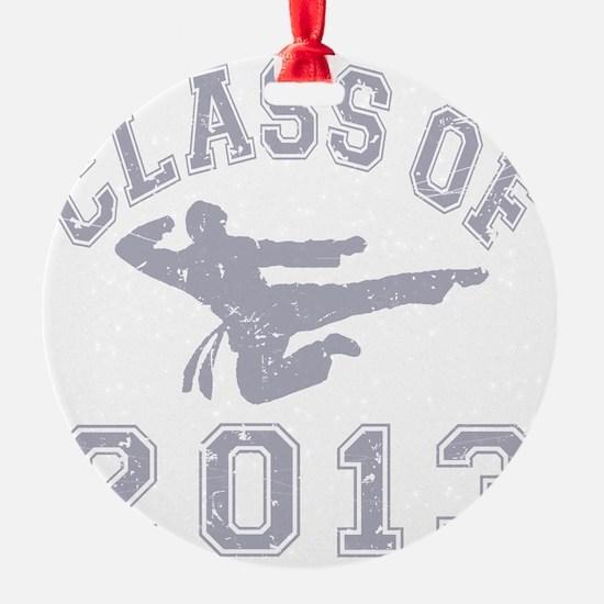 Class Of 2013 Martial Art - Grey 2  Ornament