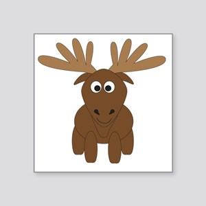 "moose Square Sticker 3"" x 3"""