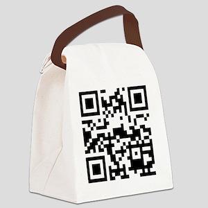 qrcodeFood4Freaks Canvas Lunch Bag
