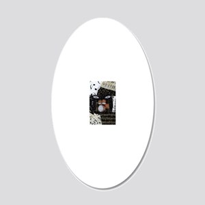 Drum-set-8064-kindle-nook 20x12 Oval Wall Decal