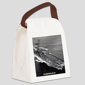 oriskany cv framed panel print Canvas Lunch Bag