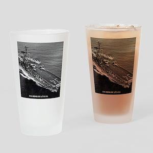 oriskany cva framed panel print Drinking Glass