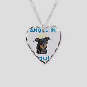 Michael_Tshirt Necklace Heart Charm
