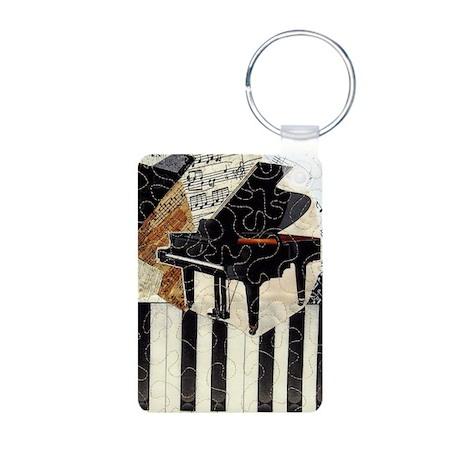 Piano-itouch Aluminum Photo Keychain