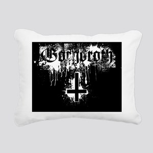 Gorgoroth Inverted Cross Rectangular Canvas Pillow