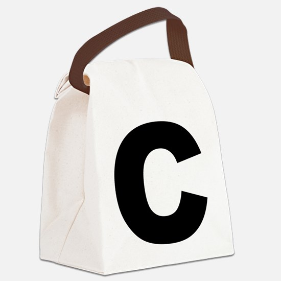 c_arial_l Canvas Lunch Bag