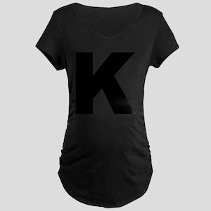 k_arial_l Maternity Dark T-Shirt
