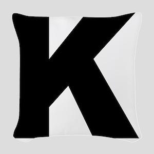 k_arial_l Woven Throw Pillow