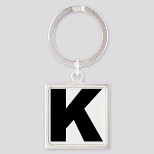 k_arial_l Square Keychain