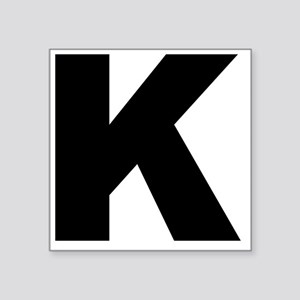 "k_arial_l Square Sticker 3"" x 3"""
