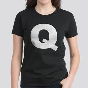 q_arial_d Women's Dark T-Shirt