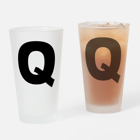 q_arial_l Drinking Glass