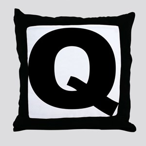 q_arial_l Throw Pillow