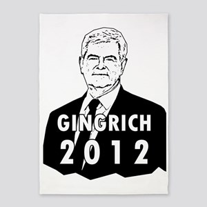 Newt Gingrich2012 5'x7'Area Rug