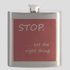 Design - STOP better corners - 10x10in Flask