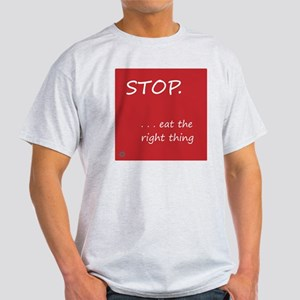 Design - STOP better corners - 10x10 Light T-Shirt