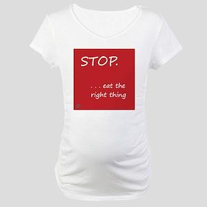 Design - STOP better corners - 1 Maternity T-Shirt