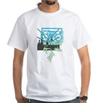 Retro 80's Breakdance B-Boy White T-Shirt
