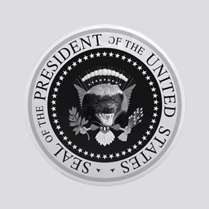 HBpresidential-seal Round Ornament