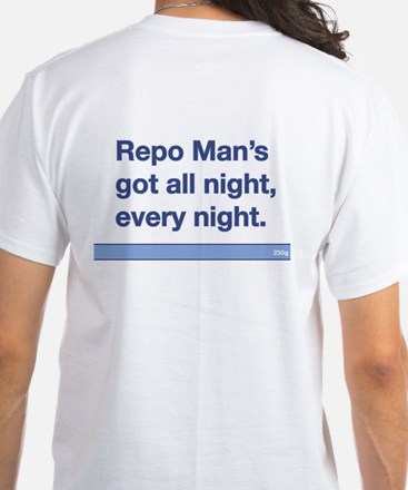 Repo Man Quote Generic White T-Shirt