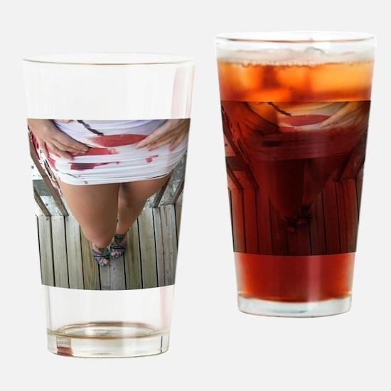 Hot Legs Drinking Glass